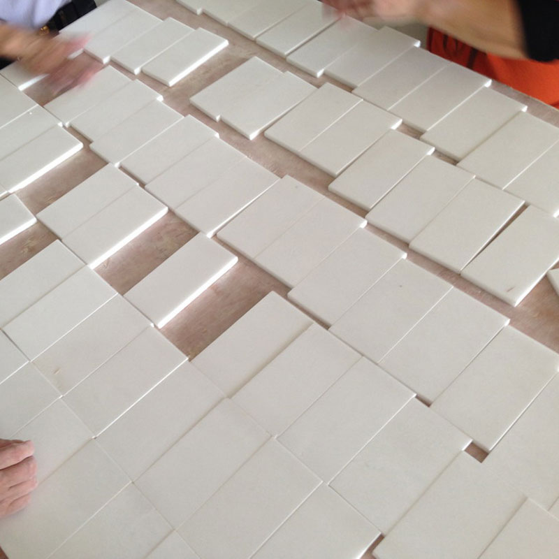 BMT028 Thassos White Marble Tiles_China Granite Outlet