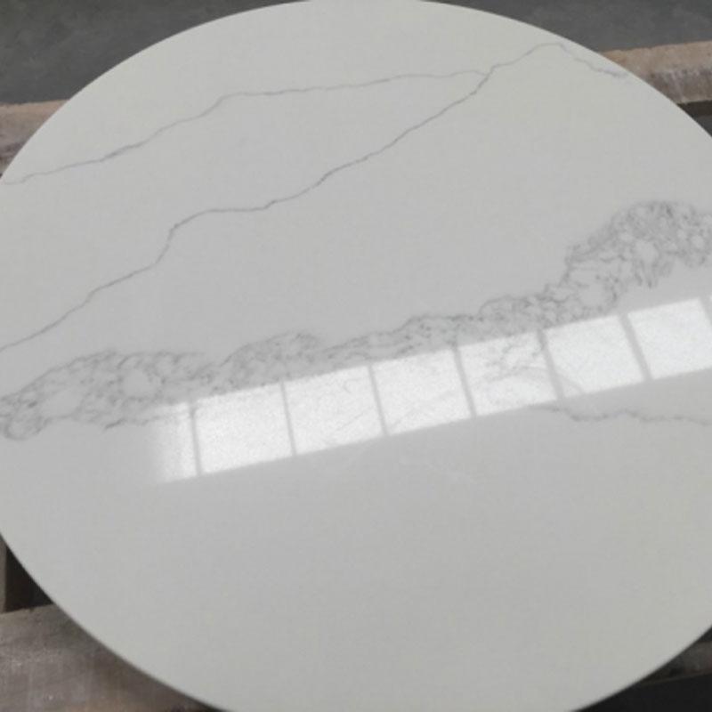 Bwt002 Calacatta Quartz Table Tops China Granite Outlet